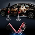 2Pcs Car Doors Ghost Shadow Laser Projectors Logo Courtesy projector Shadow Welcome Light for VW