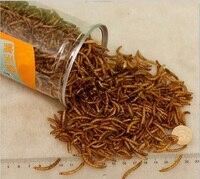 660 мл Mealworm сушеный Аквариум Пруд рыбка рептилия дикий птичий корм хомяк птичий семя ящерица черепаха Arowana Tenebrio куриный корм