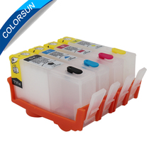 Colorsun For HP 655 Ink Cartridges for HP Deskjet 3525 4615 4625 5525 6525 cartridge Refillable for HP655 with ARC chips