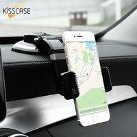 KISSCASE Suporte Do Telefone Do Carro Universal Otário Stand Stents Para o iphone 6 6 s 7 Plus Samsung S6 S7 S8 s8 Plus Borda Para Huawei Xiaomi