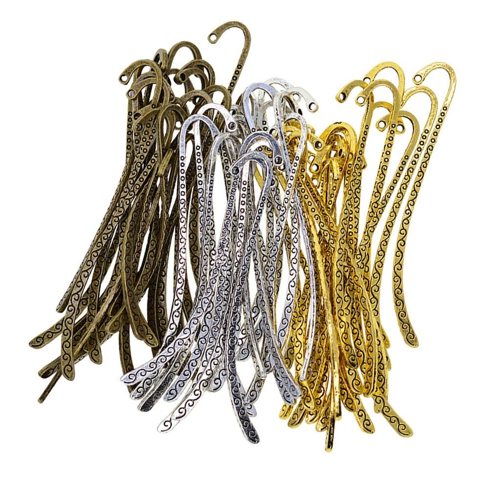 bronze-gold Bookmark Pendant Charms  Pendant 1 Pcs Color
