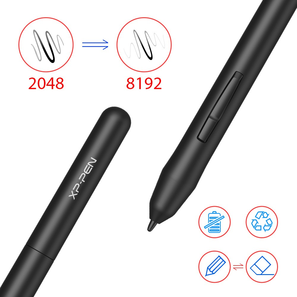 The XP-Pen G430S 4 x 3 inch Ultrathin Graphic Drawing Tablet for Game OSU and Battery-free stylus- designed! (1)