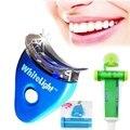 Dente dentes Branqueamento Dental Fino Limpo Branqueamento Sistema Whitener Whitelight Gel Ferramenta Com O Dom Gratuito