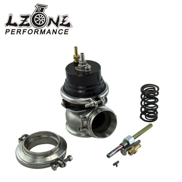 ФОТО LZONE RACING- GT II 60MM Adjustable Turbo Wastegate Black- V BAND For 1jzgte / SR20DET / JDM JR5891BK
