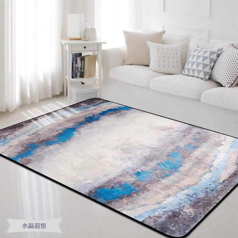100X150 CM tapis de Style nordique pour salon chambre décor à la maison tapis tapis Table basse rectangulaire tapis enfants jouer tapis de sol