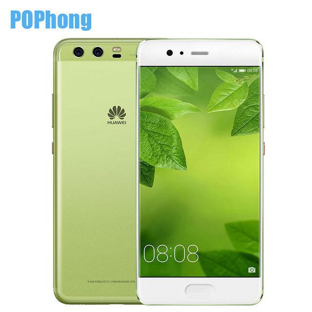 Original Huawei P10 4GB RAM 128GB ROM 5.1'' Kirin 960 Octa Core Mobile Phone EMUI 5.1 Android 7.0 Dual SIM QuickCharge