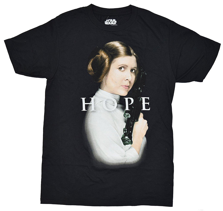 Star Wars Classic Princess Leia Hope T Shirt-in T-Shirts ... Old Princess Leia Shirts