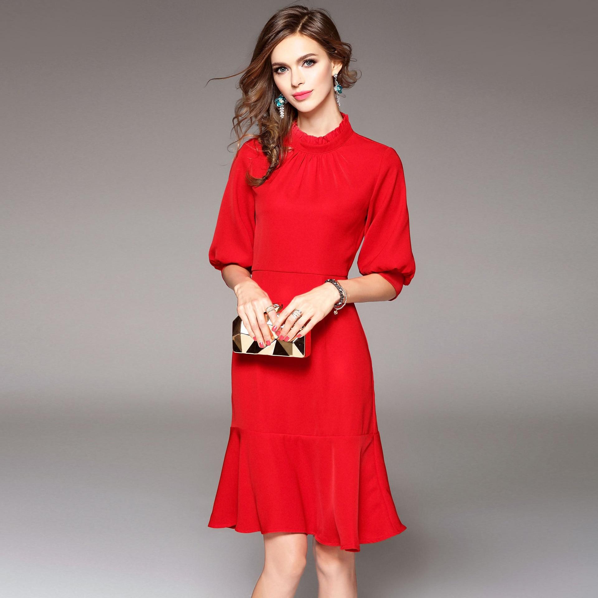 Осеннее платье новинки