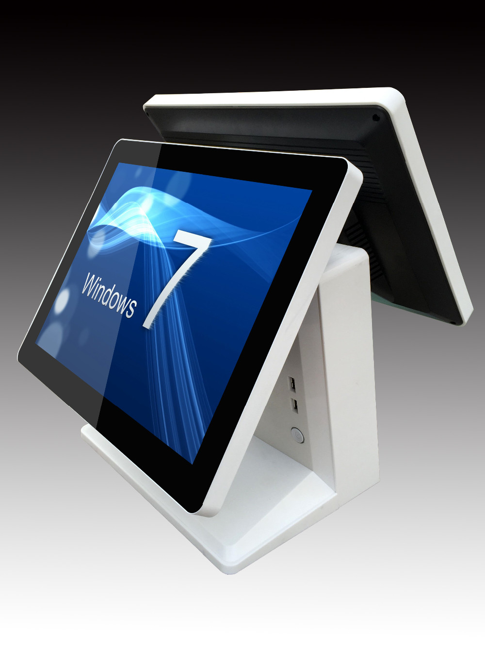 15 Inch Dual-screen Touch-display Touch Pos-maschine