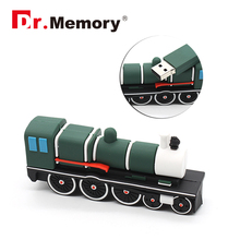 Cartoon Train Locomotive USB stick flash drive