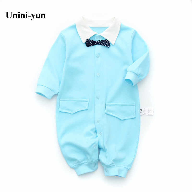 Cotton Autumn/Winter Baby Rompers clothes long sleeved coveralls for Cottonborns Boy Girl baby Clothing Character Cartoon