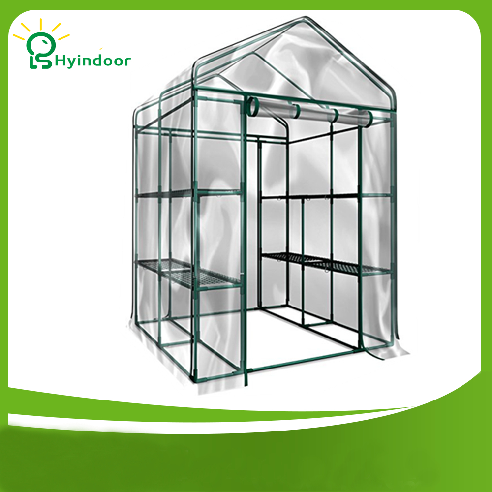 € 191.99  Hyindoor Jardin fournitures Agriculture serre PVC écran Sunroom  pour jardinage légumes et fleurs solaire Jardin invernadero-in Serres ...