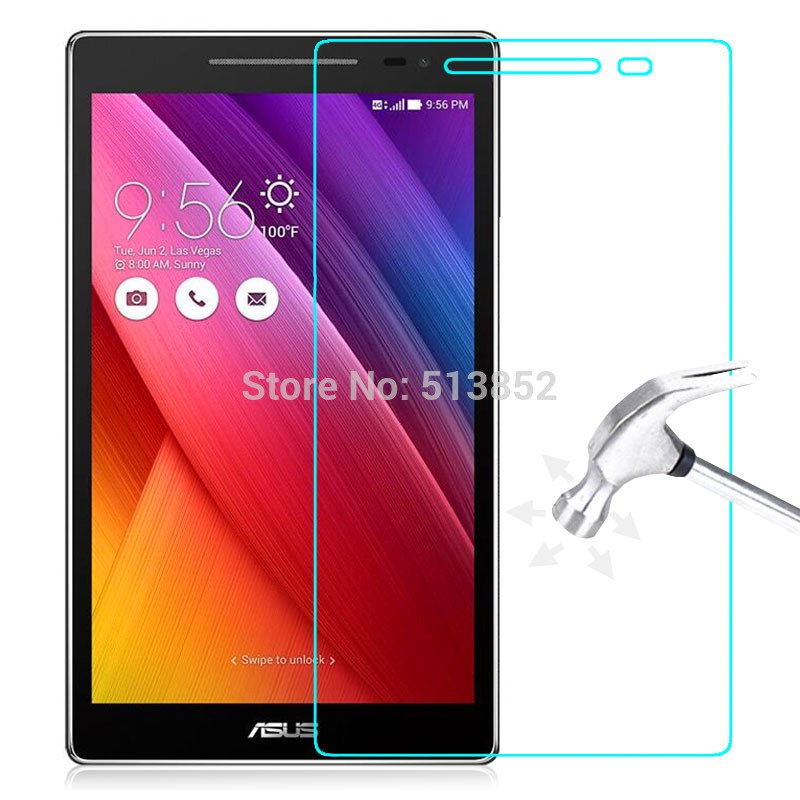 Tempered Glass Film for Asus Zenpad Z380 / Z380C / Z380KL / P024 8.0 inch Screen Protector High Clear Explosion-Proof LCD Front hat prince tpu explosion proof high resolution screen film