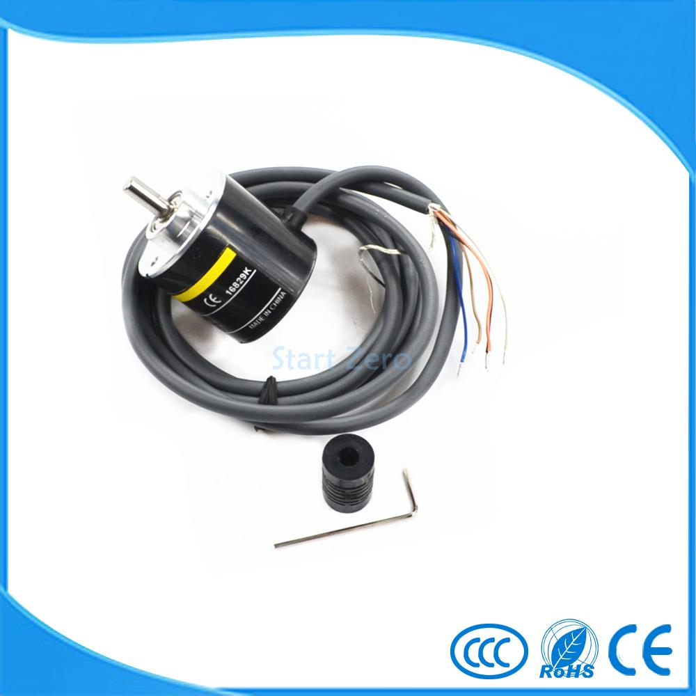 E6B2CWZ5B OMRON ABZ 3-phase Rotary Encoder E6B2-CWZ5B 2500 2000 1800 1024 1000 600 500 400 360 200 100 60 40 30 20P/R DC12-24V free shipping omr rotary encoder e6b2 cwz5b 2500p r e6b2cwz5b 2500ppr new in box free manual and installation instruction