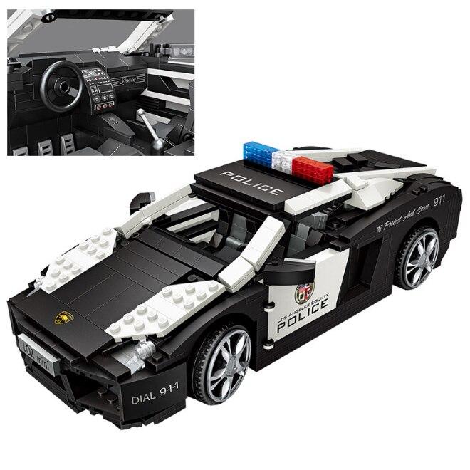DIY créateurs mini diamant micro bloc de construction modèle de voiture de sport nanobloc briques éducatifs modèle jouets pour enfants cadeaux