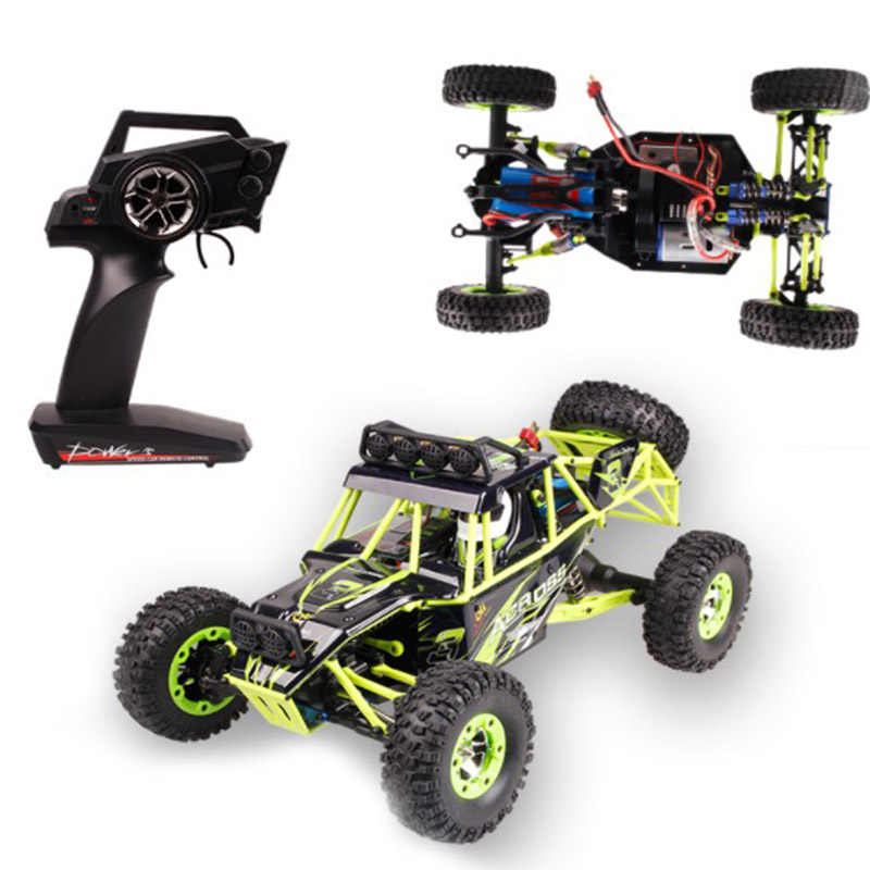 Remote climbing Car 12428 4WD RC Car 4x4 Double Motors Drive Bigfoot Car Remote Control Model Off-Road Vehicle toys For Boy Kid