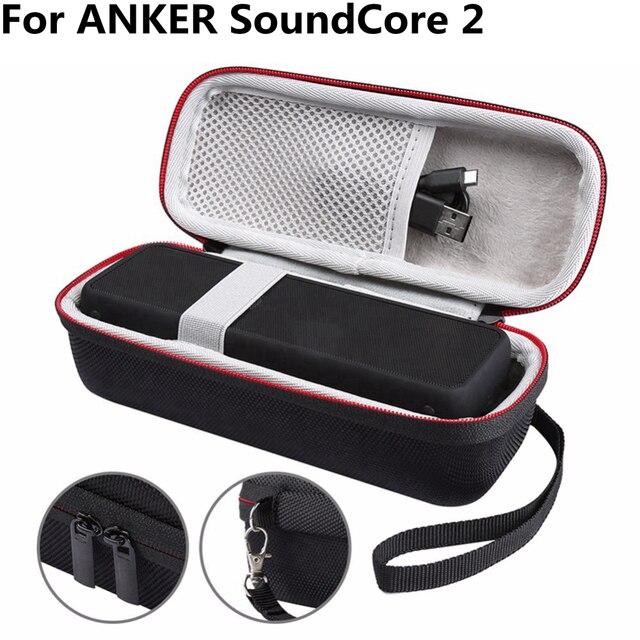 Bolsa de altavoz portátil a prueba de golpes para ANKER SoundCore 2, funda para Altavoz Bluetooth, Langerhans SoundCore, caja de sonido