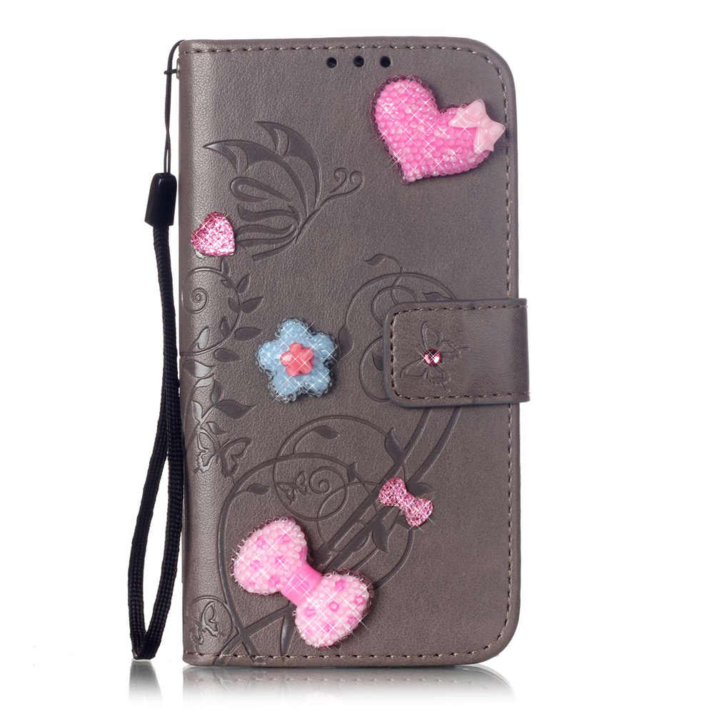 Book Flip Mobile Protect Covers For Apple iPhone 7 Plus iPhone7Plus Wallet Card Slots Cases Lovely Back Silicon Covers Man Women