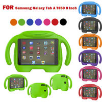 Safe Kid Handle Shockproof Cartoon Protective Tablet EVA Case Cover For Samsung Galaxy Tab A T350