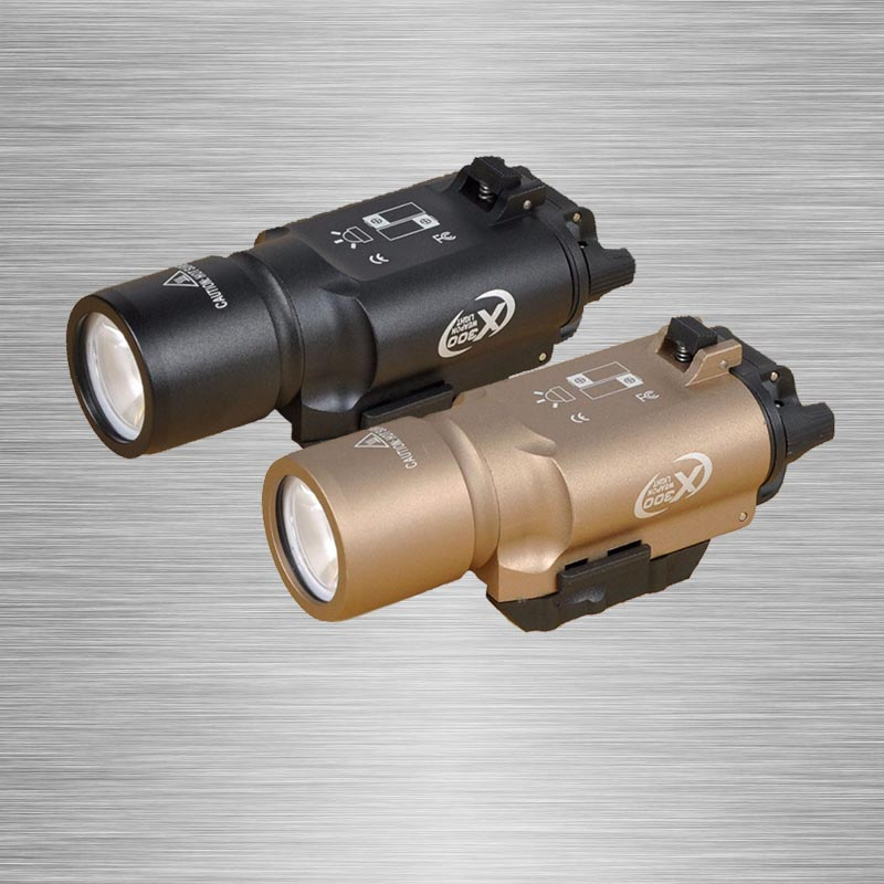 Hot sale X300 LED tactical flashlight white weapon Light torch for rifle scope for hunting shooting free shipping hot sale new tactical flashlight x300 ultra led weapon light for hunting for shooting cl15 0040