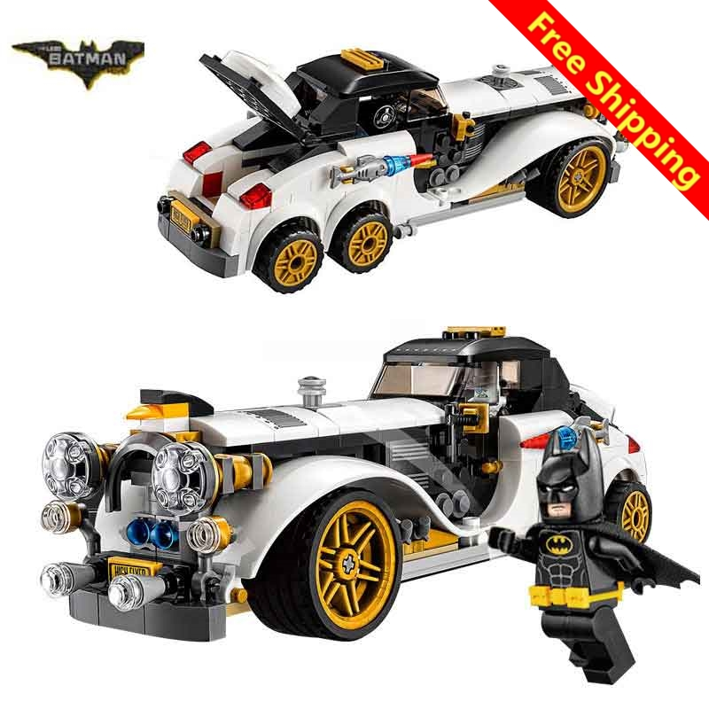 2017 New Legone 07047 Batman Movie The Penguin Arctic Roller Penguin Man Bat Building Block Toys