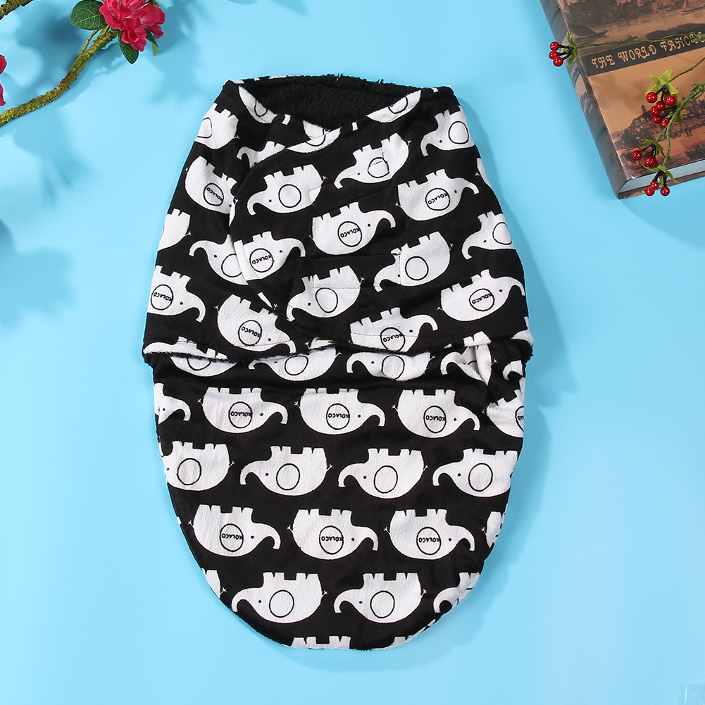 Double-Layer-Sleeping-Bag-Baby-Short-Plush-Swaddling-Clothes-Newborn-Sleep-Sacks-Warm-Clothes-Girl-Boys-3