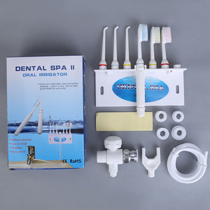 Image 2 - Faucet Oral Irrigator Water spray toothbrush Dental SPA Water Jet Flosser Teeth cleaning Does not hurt the gums