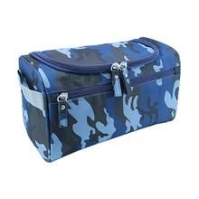 Waterproof Men Hanging Toiletry Bag Nylon Travel Organizer Cosmetic Bag For Women Large Necessaries Make Up Case Wash Makeup Bag