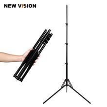 Soporte de luz de 4 secciones de pliegue inverso de 180cm para Flash de estudio, caja de luz portátil, soporte de Flash y soporte