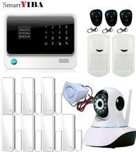 SmartYIBA G90B Plus WIFI GSM Alarm APP Control Camera Surveillance System Wireless Alarm Motion Sensor Door