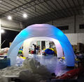 inflatable tent with LED light   for advertising promotion,trade show,party toy tent with 4 legs
