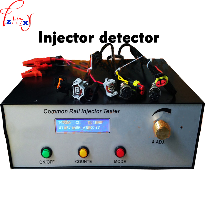 Iniettori Common rail tester CRI200 Ad Alta pressione common rail injector tester può testabile Elettromagnetica e iniettori 1 pz
