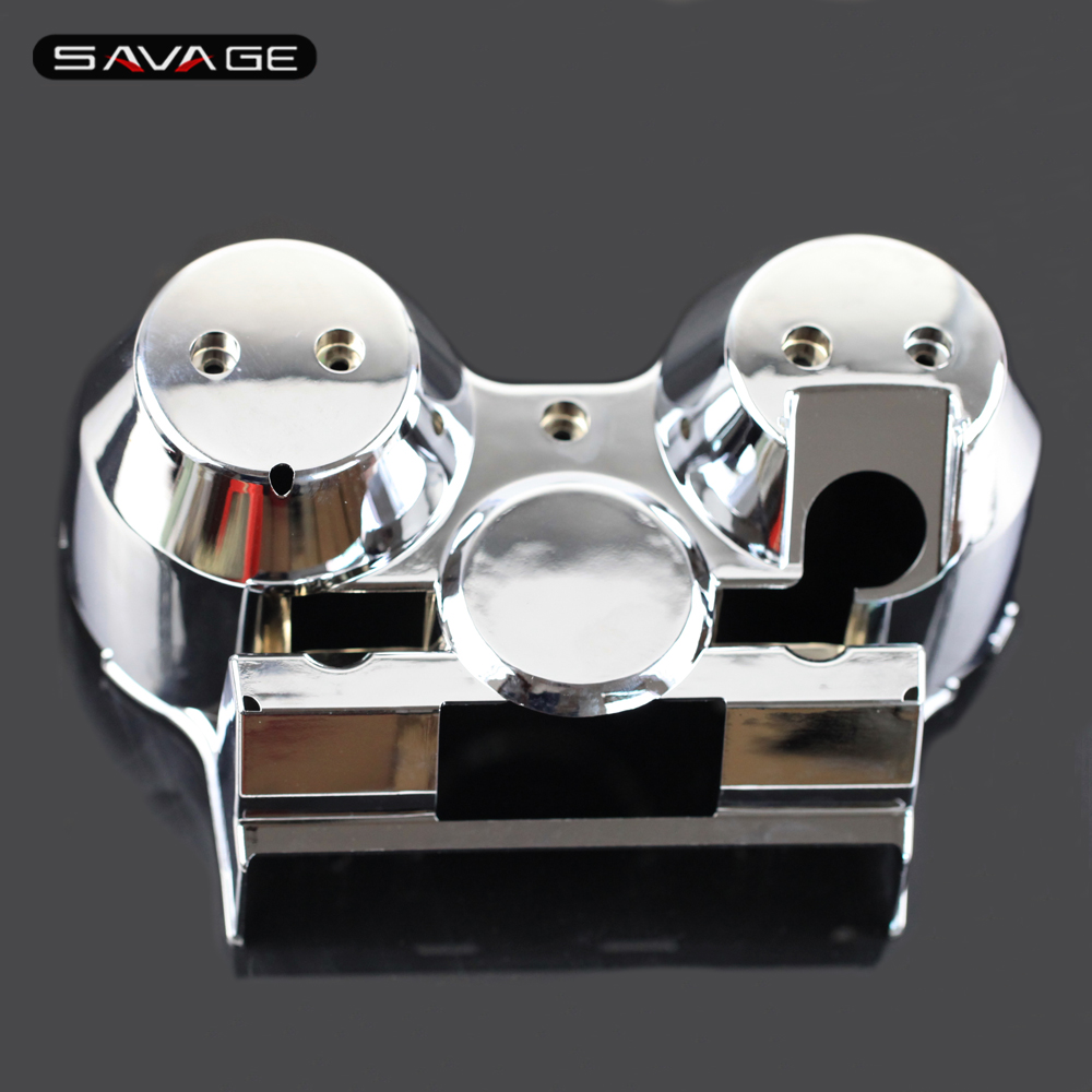 Speedometer Tachometer Gauges Case Outer Cover For HONDA CB 1000 CB1000 1992-1996 Motorcycle Accessories Bottom Housing Chrome new piece motorcycle gauges cover case housing speedometer for bmw s1000rr 2009