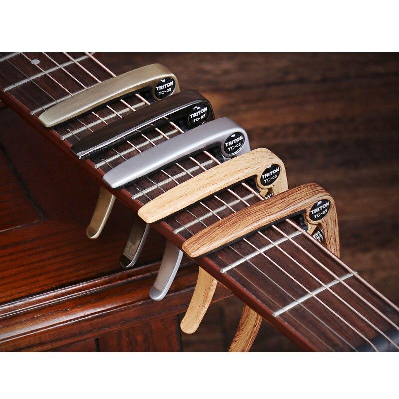 Black Guitto GGC-03 Guitar Capo for Acoustic Electric Guitars Banjo Ukulele Mandolin Guitar Music Capo Metal Capo Clip