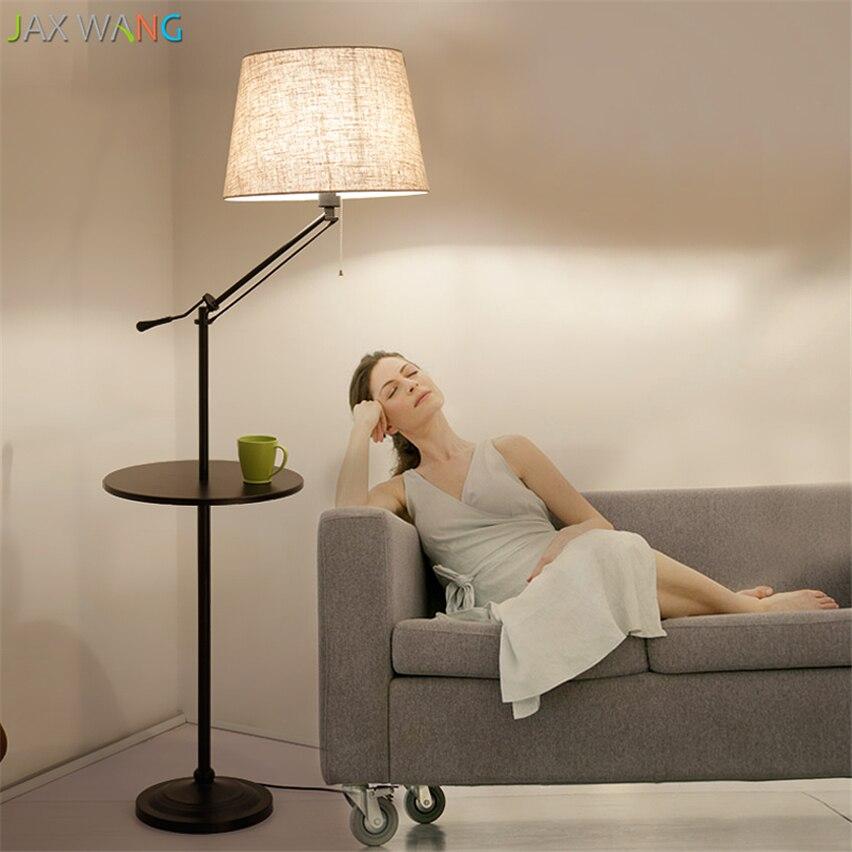 Pallet Floor Lamp: Simple Modern Standing Floor Lamps Living Room Study