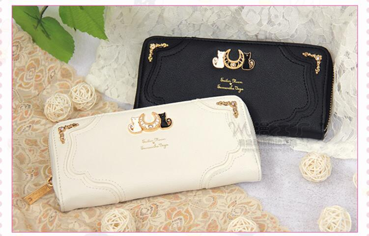 2019 New Samantha Vega Sailor Moon Ladies Long Zipper Female Bag Women brand Leather kawaii Wallet Purse portefeuille femme Кошелёк