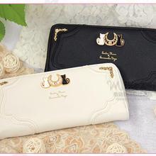 2020 New Sailor Moon Ladies Long Zipper Female Bag Women brand Leather kawaii