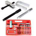 Steering Wheel Puller & Lock Plate Compressor Set Mechanic Installer Remover Kit