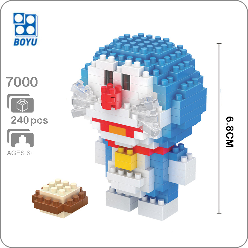 LOZ 9795 Card Captor Sakura Kinomoto Girl Nano Blocks Diamond Mini Building Toy
