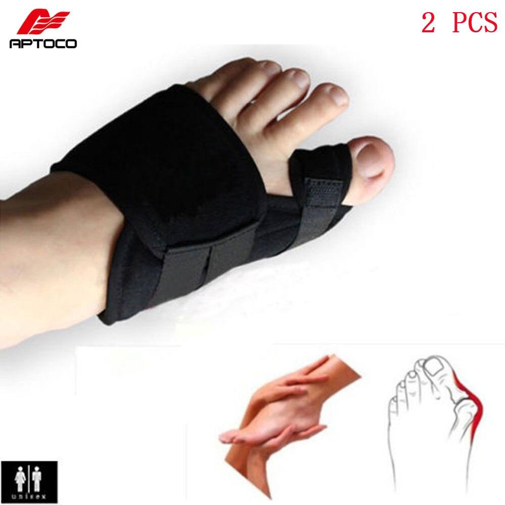 Unisex 1Pair Soft Bunion Corrector Splint Correction Hallux Valgus Foot Care Pedicure Orthotics Tool Orthopedic Supplies
