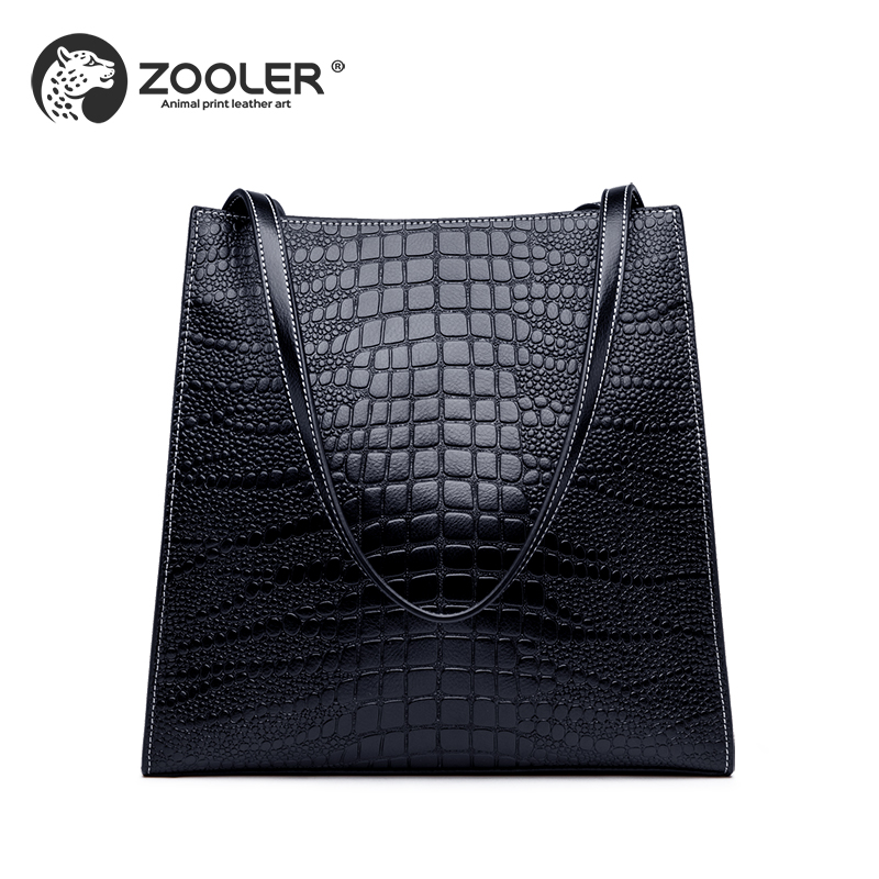 ZOOLER 2019 luxury genuine leather bags handbag women bags fashion real leather shoulder bag high quality