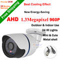 High definition AHD Camera Home security system 1.3MP COMS Sensor Waterproof IR night vision 960P outdoor Bullet CCTV Camera