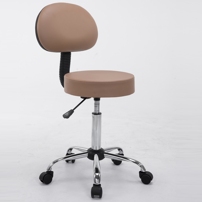 Modern Adjustable Swivel Hydraulic Multipurpose Massage/ Medical/ Drafting Stool Chair With Backrest Rolling Massage Stool Chair modern adjustable swivel salon massage spa seat tattoo medical chair stool leather seat and back massage swivel chair furniture