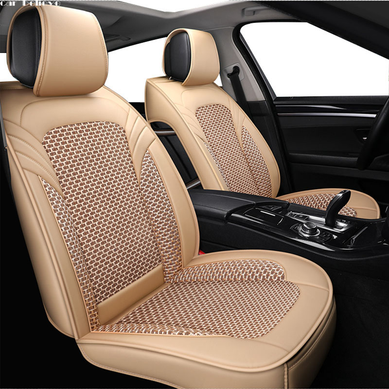 Car Believe Auto Leather car seat cover For bmw e46 e36 e39 accessories e90 x5 e53 f11 e60 f30 x3 e83 covers for vehicle seats emission control secondary air pump for e46 e53 e60 e63 e64 e83 x3 x5 m5 m6 m54 11727571589