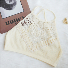 CINOON full cup Bra  Sexy Women Brassiere Soft bralette Fashion Padded Up Wireless Embroidery Ladies Underwear crop Lingerie