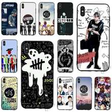 купить Slim 5 Seconds of Summer 5SOS Phone Cover for iPhone Xs Case Max X 6 6S XR 8 Plus 7 5S 5 SE Covers по цене 64.48 рублей