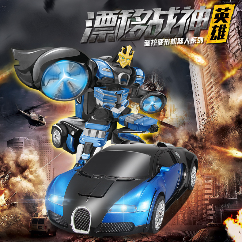 Deformation robot remote control car,Toy car model,Electric remote control cars,Children's toy car,Gifts for children. rastar car 1 14 high quality rc deformation robot car usb charge remote control changeable robot car toy for children gift