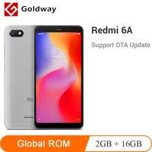 Küresel ROM Orijinal Xiaomi Redmi 6A 6 Bir 2 GB 16 GB 5.45 ''18:9 Tam Ekran Helio A22 Quad çekirdek 13MP Kamera 3000 mAh Cep Tel...