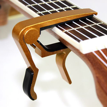Multicolor Guitar Bass Violin Jaw Capo Clamp Electric Acoustic Tuba Guitar Diacritical Clip Advanced Technology Trigger Release
