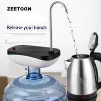 Outdoor Travel Camping Electric Magic Tap Charged Water Pump Faucet Office Tea Room Bottled Automatically Dispenser Coffee Tools